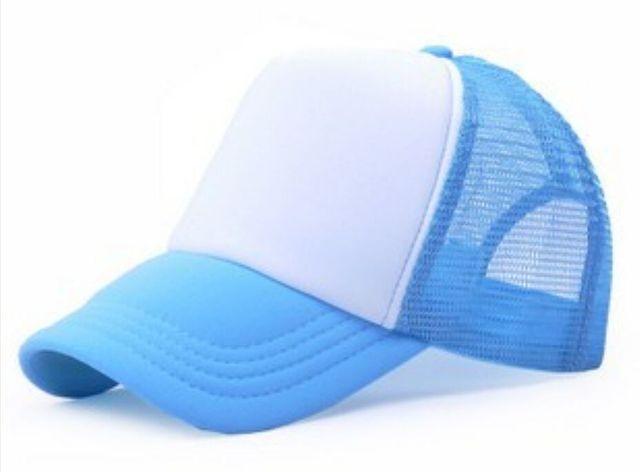 Sky Blue Baseball net 5c64f225d7efa