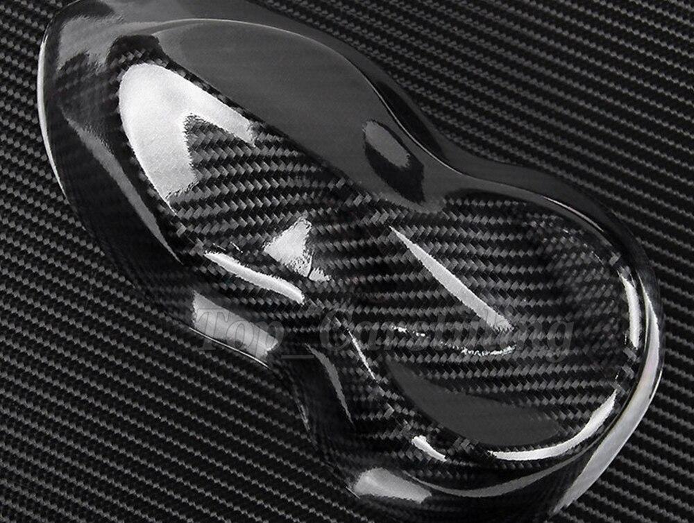 Haute Qualité 6D 4D En Fiber De Carbone Noir texture enveloppe de voiture de vinyle autocollant réel caron regarder 1.52x20 m/rouleau avec la Bulle Libre