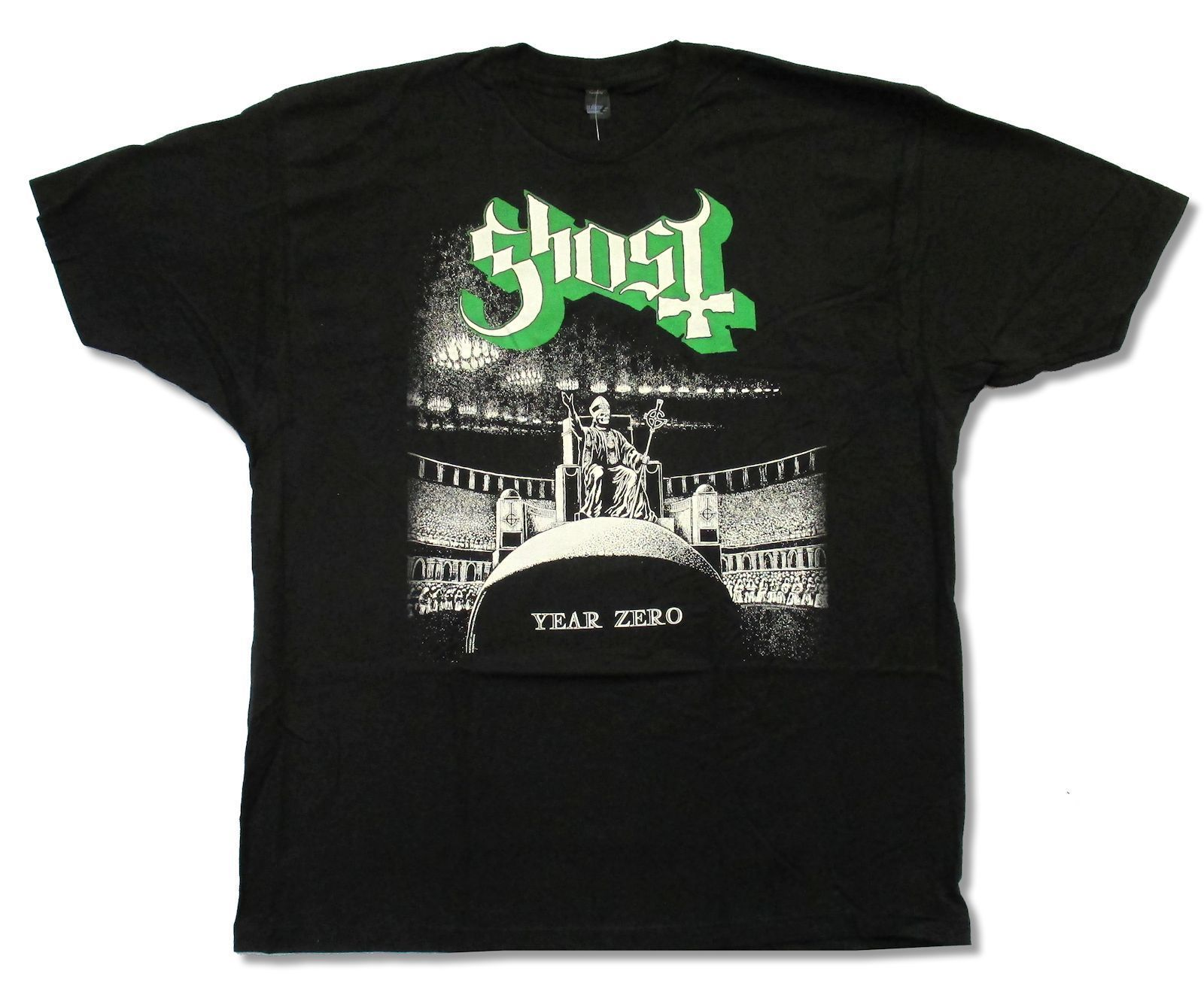 GHOST B C HAZE OVER N A TOUR 2013 BLACK T SHIRT NEW OFFICIAL ADULT YEAR ZERO Top Tee Plus Size Harajuku T Shirt in T Shirts from Men 39 s Clothing
