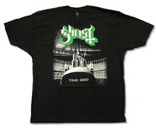 GHOST B.C. HAZE OVER N.A. TOUR 2013 BLACK T-SHIRT NEW OFFICIAL ADULT YEAR ZERO Top Tee Plus Size Harajuku T Shirt