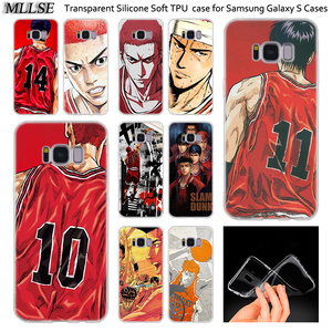 Hot Anime Slam Dunk Soft Silicone Case For Samsung Galaxy Note 10 Plus S8 S9 S10 Plus 5G S6 S7 Edge S5 S10e Note 5 Fashion Cover(China)