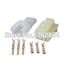 10 PCS 5 Sets Sumitomo DJ7035-2.3-21 3 Pin Auto Wire Connector Female And Male Electrical With Terminal