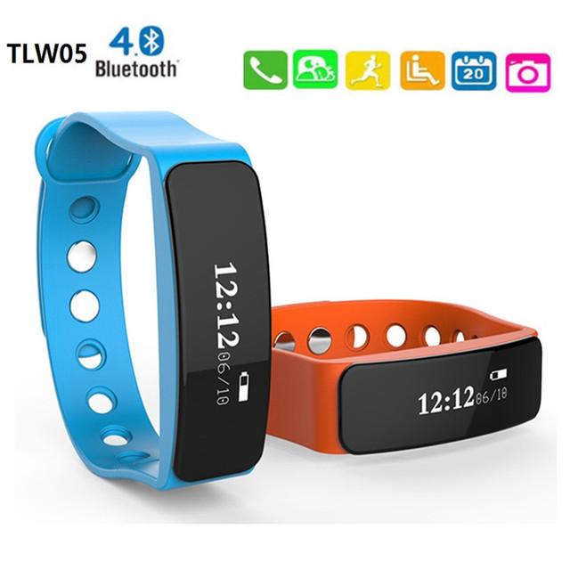 """Bluetooth Inteligente Pulseira à prova d' água, 0.86 """"Esporte Sono Smartband OLED Pedômetro Saúde Pulseira Câmera Remota Para IOS Android"""