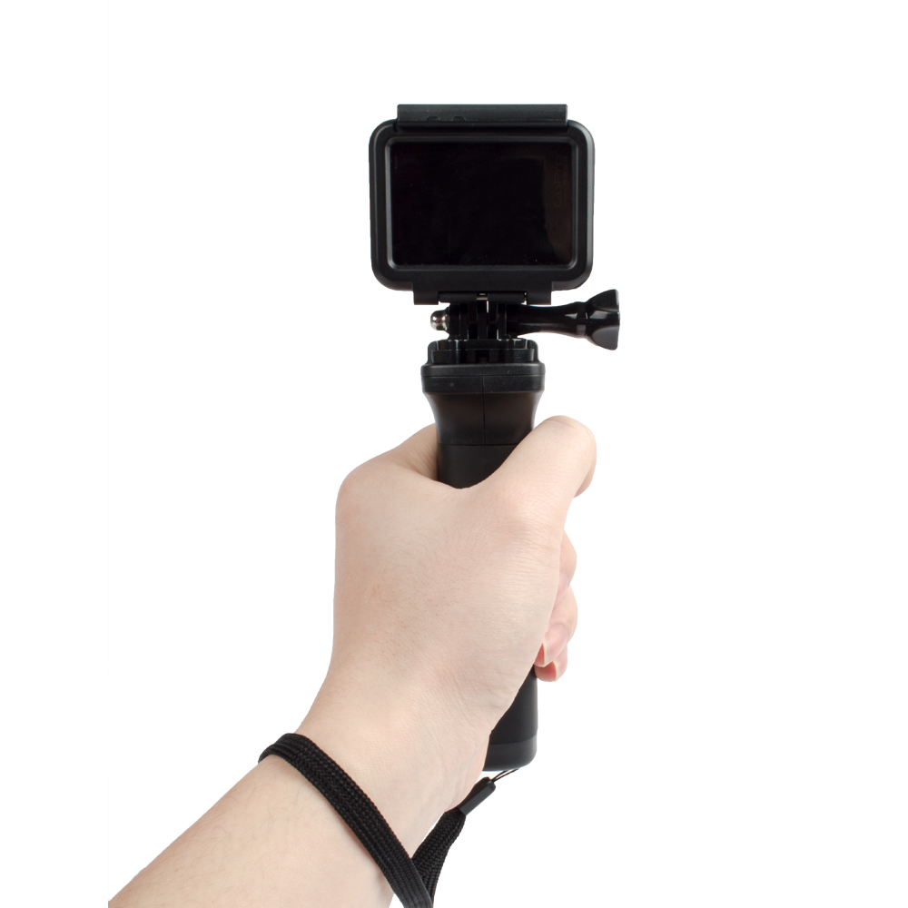 Easttowest Non Slip Floating Hand Grip Black Handle Selfie Gopro Hero 5 Silicone Frame Case 6 Hitam Gp454