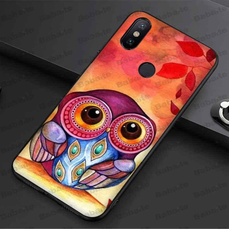 Babaite Kleurrijke De Beste Van Uil Soft Black Silicone Zwarte Telefoon Case Voor Redmi 5Plus 5A 6pro 4X Note5A note4x Note7 6A Case