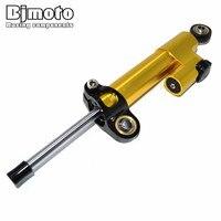 BJMOTO Universal Motorcycle CNC Stabilizer Damper Steering Mounting Bracket For Suzuki GSXR 600 750 1000 SV650 GSR750 DL1000