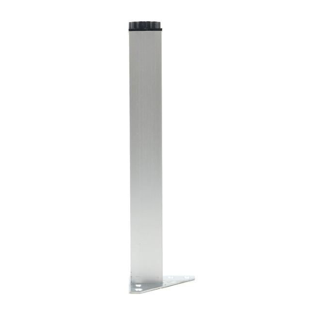 Gambe Alluminio Per Tavoli.Us 31 69 4 Pz 30 Cm Gambe Mobili Piedi Armadio Tavolo Di Alluminio Del Metallo Del Triangolo Regolabile Base Con Le Viti In 4 Pz 30 Cm Gambe Mobili