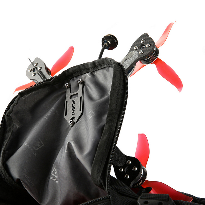 Image 4 - Iflight Super Lightweight Easy To Carry Knapsack Fastener Bundle Mount with Bettery Strap for FPV Backpack-in Parts & Accessories from Toys & Hobbies