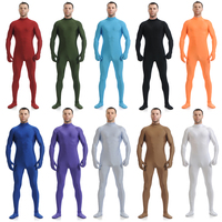 Multicolor Spandex Lycra Zentai without Head Unisex Second Skin Tights Bodysuit Costume Party Halloween Fancy Dress Custome