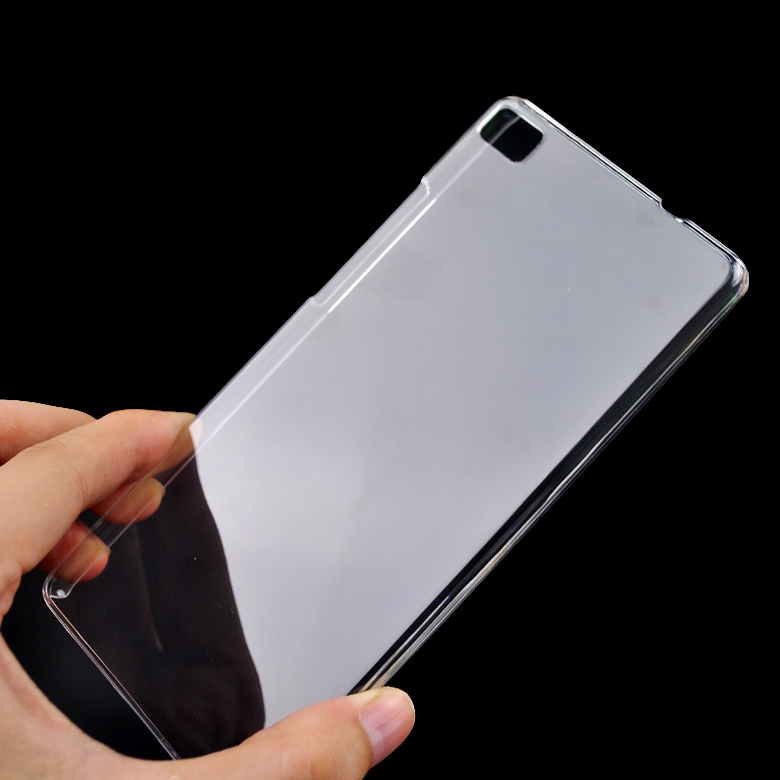 size 40 bcf9e 2a910 US $2.99 |Ultra Thin For Huawei P8 Lite Case Cover Clear Transparent  Crystal Hard Back Case For Huawei P8 Lite Cell Phone Shell Cover on ...