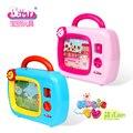 Новые Детские Игрушки Телевизор с Экраном Двигаться и Музыка Развивающие Игрушки Music Box нет необходимости батареи детские игрушки