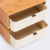 ZEN'S Bedsiede Pecho de Cajón Pequeño De Almacenamiento DE BAMBÚ Gabinete BRICOLAJE Combinar libremente de la sala de estar/Dormitorio/Estudio/Oficina muebles