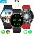 Melhor kingwear kw88 android 5.1 os smart watch 1.39 polegada scrren mtk6580 smartwatch suporte por telefone bluetooth 3g wifi nano sim WCDMA