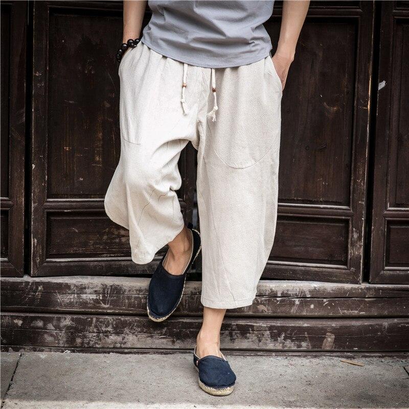 2019 nouveau hommes joggers coton indien harem pantalon hommes big entrejambe pantalon népal baggy linge pantalon hip hop pur grand défaites