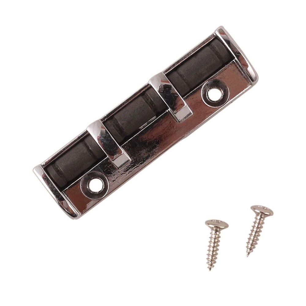 adjustable electric guitar roller nut 43mm silver metal soild body pro quality guitarra nut for. Black Bedroom Furniture Sets. Home Design Ideas
