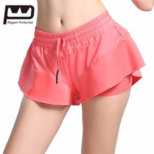 ФОТО EP Womens Play Up Shorts Elasticity  Soft Comfortable Bottoms Cute Teenager Sports Shorts Yoga Fitness Running Gym Leisure