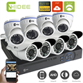 CNHIDEE High Quality New HD 2000TVL 8CH 1080P Realtime Record CCTV System AHD DVR Kit Security Camera 960P AVR HVR NVR 3 in 1kit