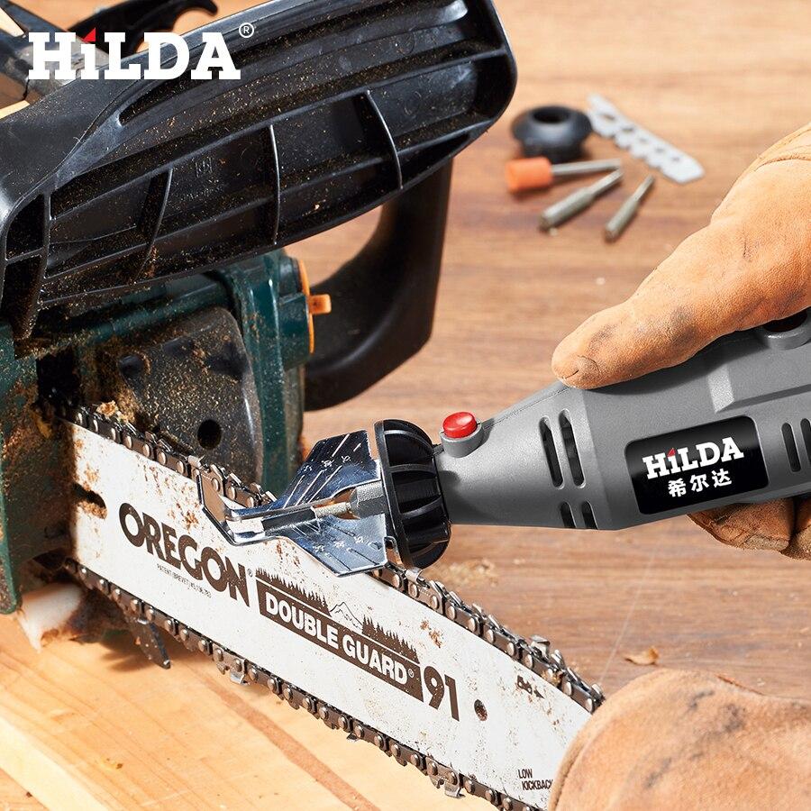 HILDA Sierra afilar cuchillas afilador guía adaptador de taladro para el taladro de Dremel Accesorios