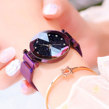 KRYLOVA Luxury Women Watches Ladies Magnetic Starry Sky Clock Fashion Diamond Female Quartz Wristwatch Tik tok relogio feminino