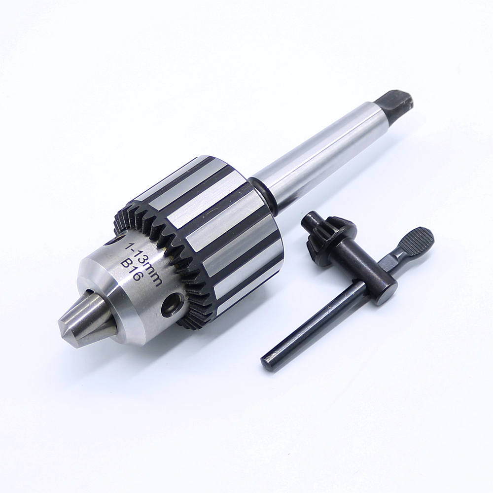 Free Shipping Carbide Steel MT2 B16/1-13mm Arbor Lathe Self Tighten Taper Shank Drill Chuck цена