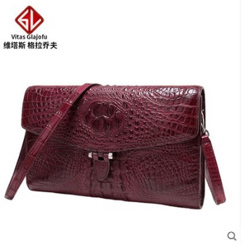 weitasi 2019 new crocodile Women's bag one-shoulder bag cross-body bag women's hand bag