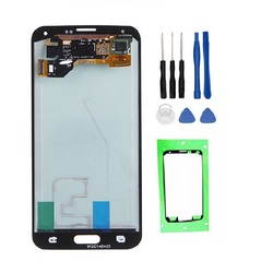 100% AMOLED LCD Display for Samsung GALAXY S5 G900 G900F High Quality Touch Screen Digitizer Assembly+Tools+Tape