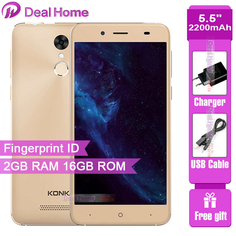 Original KONKA 509 Smartphone 5 5 inch HD 2GB RAM 16GB ROM