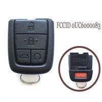 New Keyless Entry Remote Key Fob 5 Button No Blade for Pontiac G8 2008-2009 315MHz FCCID 0UC6000083 Part # 92237316 & 92204549