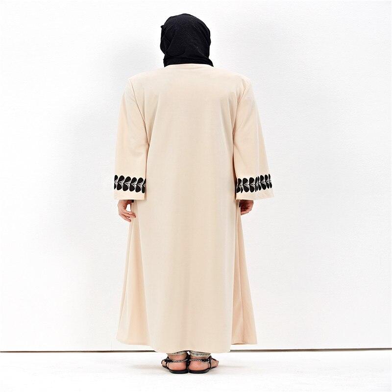 Veshja e modës për femra Cardigan në Dubai Style Abaya Jilbab - Rrobat kombëtare - Foto 5