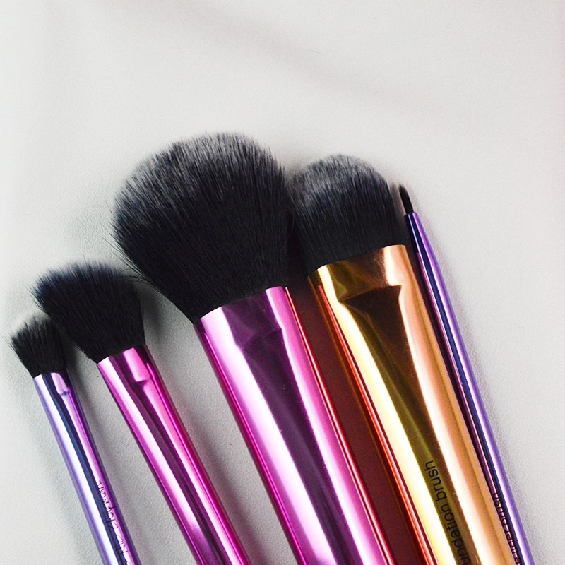 Makeup Cosmetic Brush Set Kit With Box Include Multi Task Tapered Foundation Angled Highlighter Base Shadow Fine Liner Brush top quality foundation brush angled makeup brush