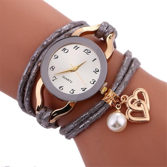 Fashion Luxury Brand Watch Women Bracelet Watch Charm Ladies Vintage Wristwatch