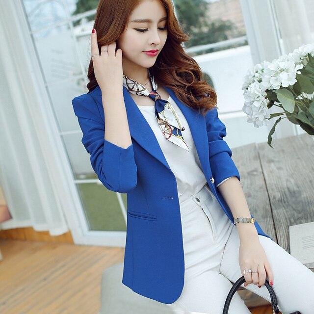 368c928d74 Mulheres primavera Blazers Senhoras Desgaste do Trabalho Fino Blazer Casaco  de Venda Quente Nova Moda Casual