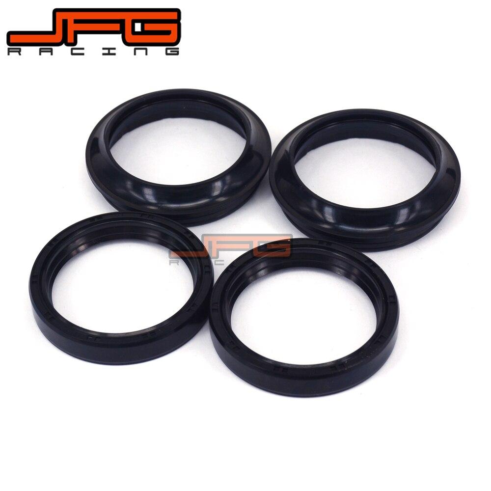 Motorcycle Parts Front Fork Damper Oil Seal + Dust seals For KLX400 /SR/B/R 2003 2004 VN2000 Classic 04-10 Shock Absorber