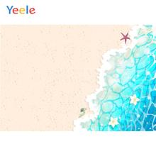Yeele Summer Wave starfish Beach Wallpaper Room Decor Photography Backdrop Personalized Photographic Background For Photo Studio