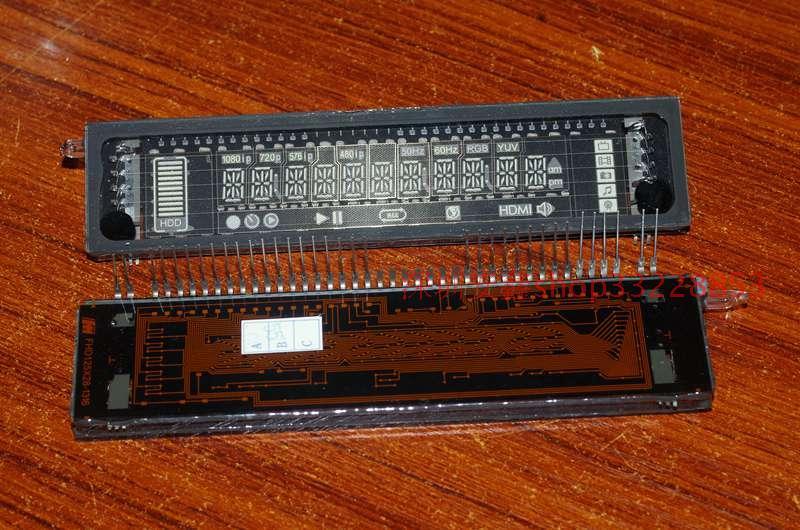 Electric Magic 2pcs/bag 11 Bits English Number VFD Screen DIY Digit Display Module For Clock Screen Digital Multimeter