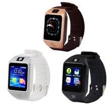 บลูทูธสมาร์ทดูอุปกรณ์สวมใส่ผู้หญิงผู้ชายนาฬิกานาฬิกาข้อมือสนับสนุนซิมการ์ดTFสำหรับโทรศัพท์Android Huaweiซัมซุง