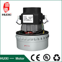 Good Quality 220V 1200W 1400W Low Noise Copper Vacuum Cleaner Motor 143mm Diameter