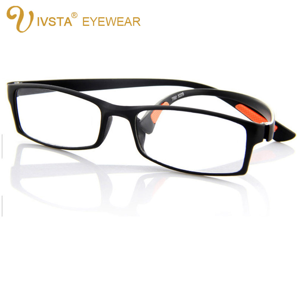 IVSTA Flexible TR90 Plastic Titanium Reading Glasses for ...