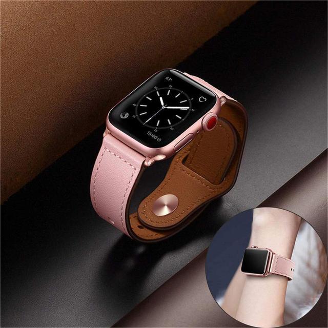 Кожаный ремешок для pulseira apple watch band 42 мм 38 мм 40 мм 44 мм спортивный высокого качества correa для apple Браслет для iwatch 4 3/2 ремень