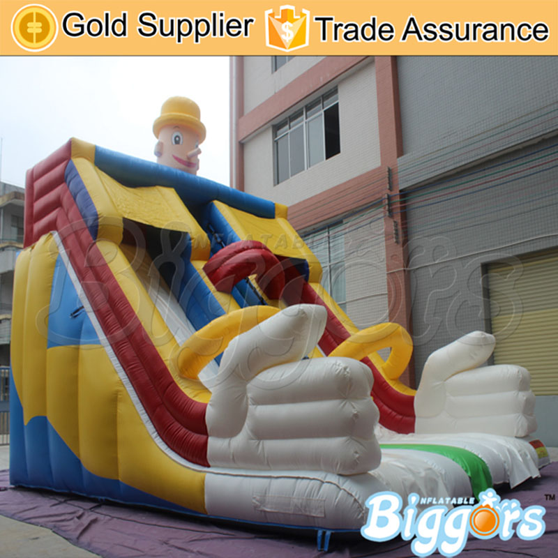 9008 inflatable slide--YARD (2)