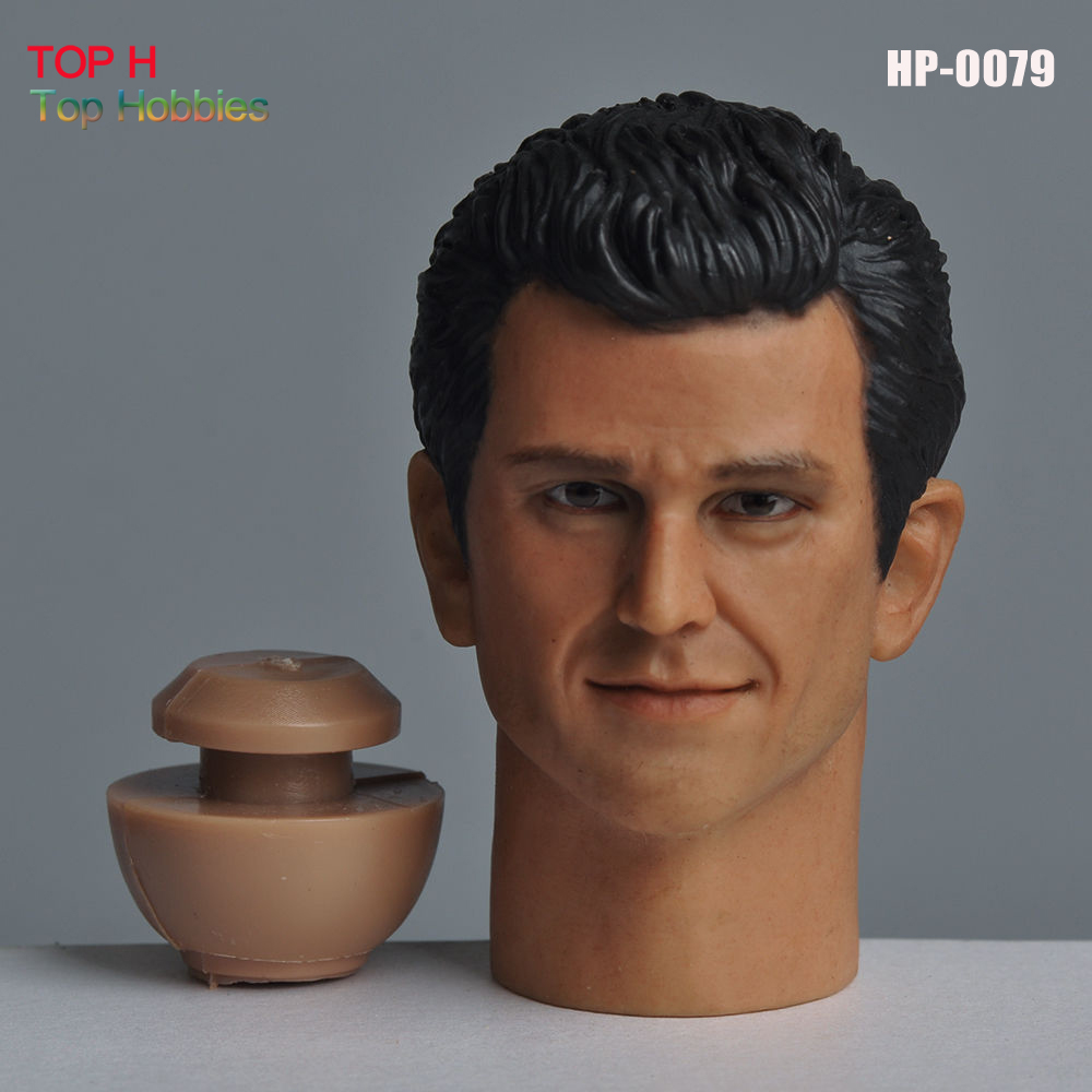 Head 1/6 Male Head Sculpt HP-0079 Mel Gibson Male Head Carving Model Fit 12 Action Figure Doll Body Toys HP-0079