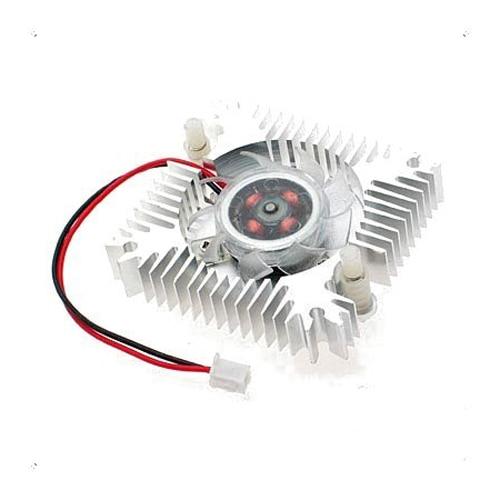 CAA Hot PC VGA Video Card 2 Pin 55mm Cooler Cooling Fan Heatsink 4800 RPM hasbro интерактивная игрушка смешливая обезьянка с 4 лет