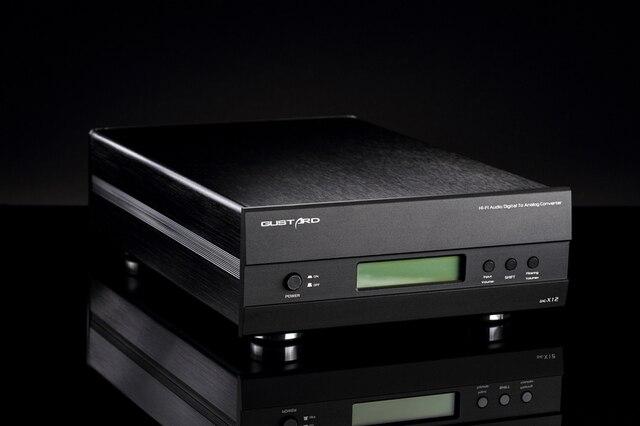 DAC-X12 Gustard ES9018 Цифровой Аудио Декодер XMOS Вход IIS/Оптический/Коаксиальный/AES/EBU Поддержка DSD USB поддержка 32Bit/384 КГц ДОП