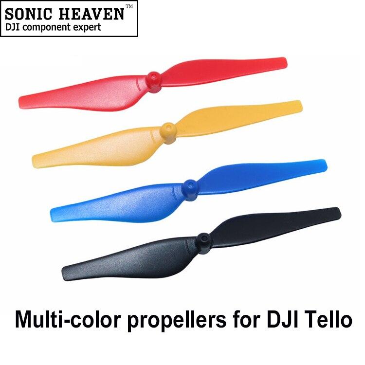 16x Propeller für DJI Tello Quadcopter Zubehör Drone Teile Requisiten CCW CW