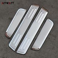 AITWATT Stainless Steel Scuff Plate Door Sill Car Styling Car Accessories For Hyundai IX35 2010 2011