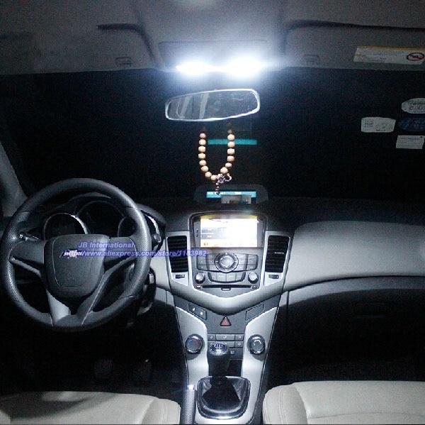 car parking interior light kit xenon white for 2009 2012 chevrolet cruze for holden cruze map. Black Bedroom Furniture Sets. Home Design Ideas