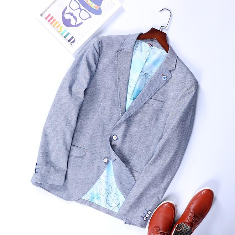 Cheap Wholesale 2019 New Autumn Winter Hot Selling Men's Fashion Netred Casual  Work Wear Nice JacketMC106