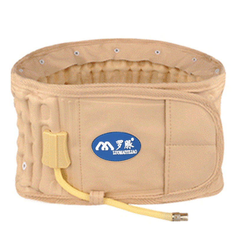 1 Pcs Inflatable Waist Belt Lumbar Support Waistband Bandagem Medical Fixing Belt Back Brace Waist Trainer Strap Postural