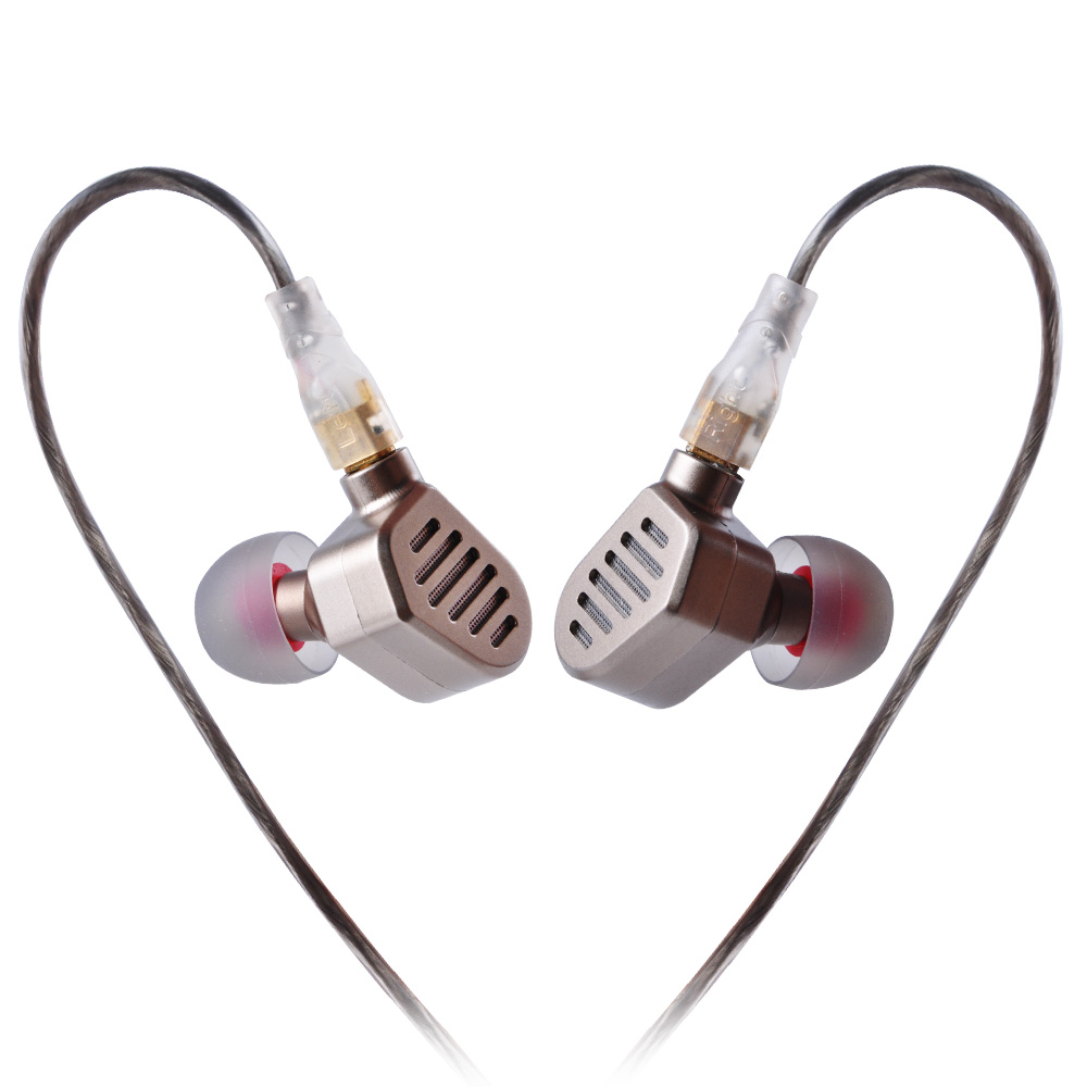 AK SENFER DT8 2BA 2DD Hybrid In Ear Earphone 4 Driver Unit HIFI DJ Earphones Headset