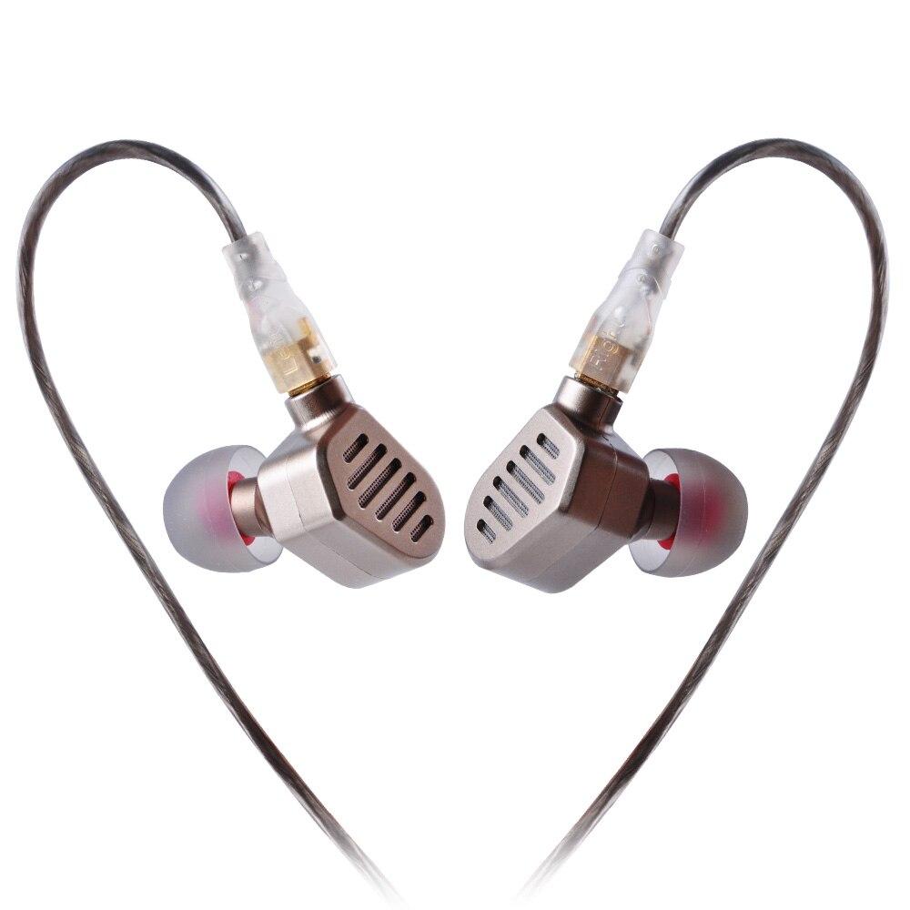 SENFER DT8 2BA + 2DD Hybride Dans L'écouteur D'oreille 4 Unité Pilote HIFI DJ Écouteurs Casque Avec MMCX Interface
